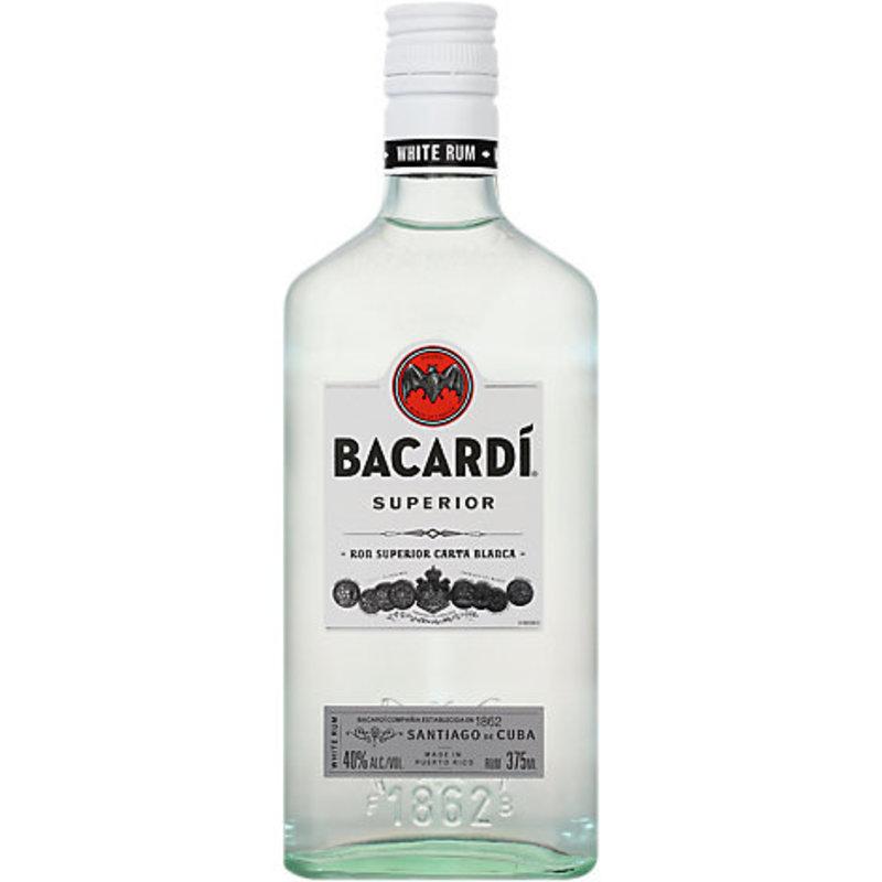 Bacardi Light Rum 375mL