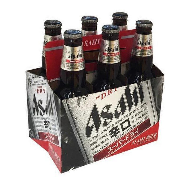 Asahi Super Dry, 6-Pack