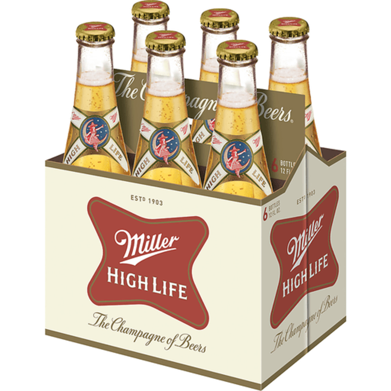 Miller High Life 6-Pack Bottle