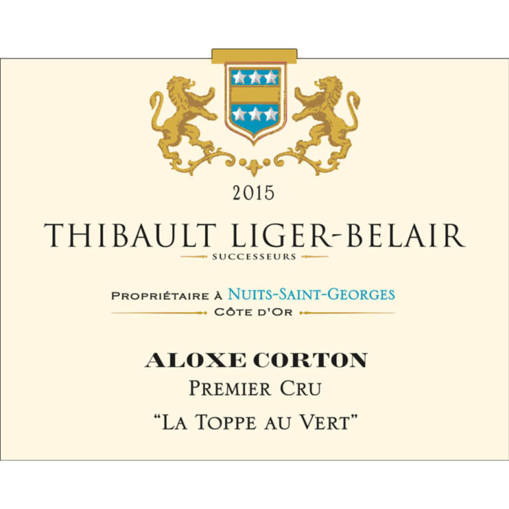 "Thibault Liger-Belair ""La Toppe Au Vert"" Premier Cru 2015"