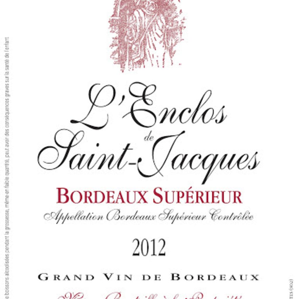 L'Enclos de Saint Jacques Bordeaux Superieur 2015