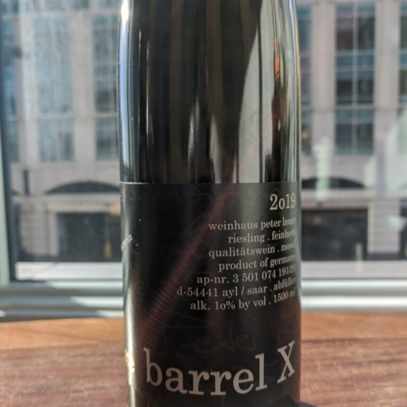 Peter Lauer Peter Lauer 'Barrel X' Riesling 2019, 1.5L
