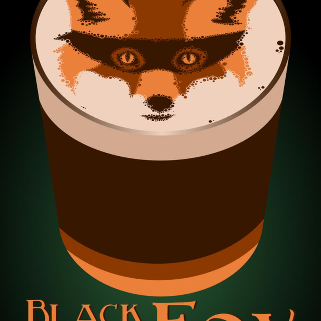 Alecraft Brewery AleCraft Black  Eyed Fox Black IPA, 4-Pack