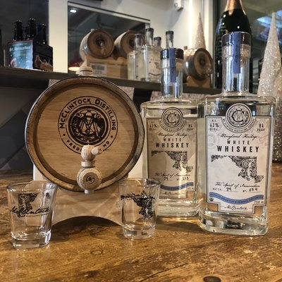 McClintock Distilling McClintock 2L Barrel Gift Set