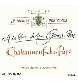 """Domaine Bosquet des Papes """"A la Glorie de Mon Grand-Pere"""" Chateauneuf du Pape 2015"""