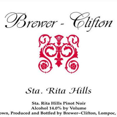 Brewer Clifton Sta. Rita Hills Pinot Noir 2016
