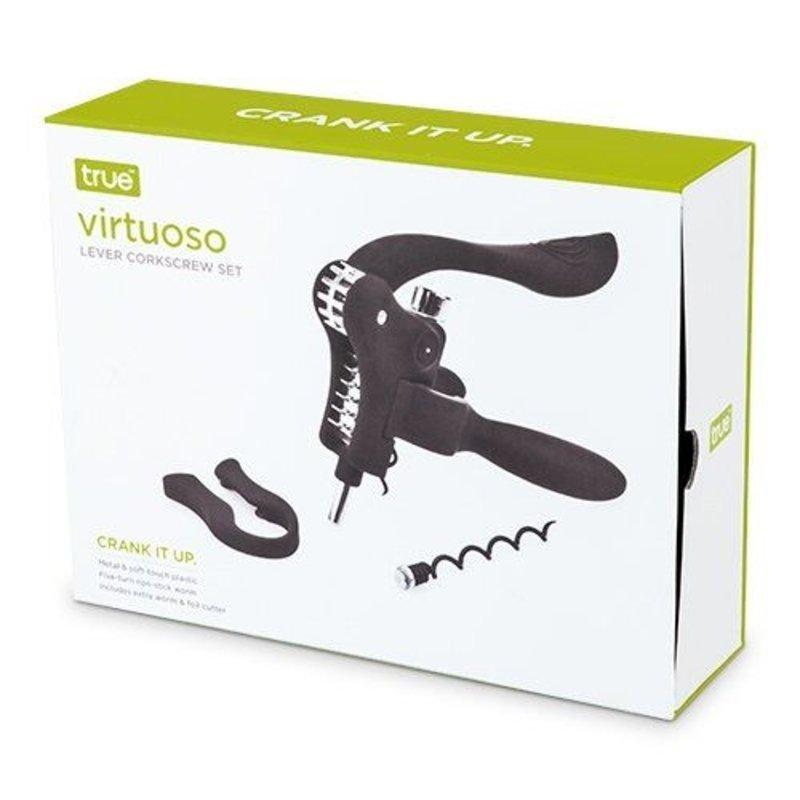 True Brands Virtuoso Lever Corkscrew Set