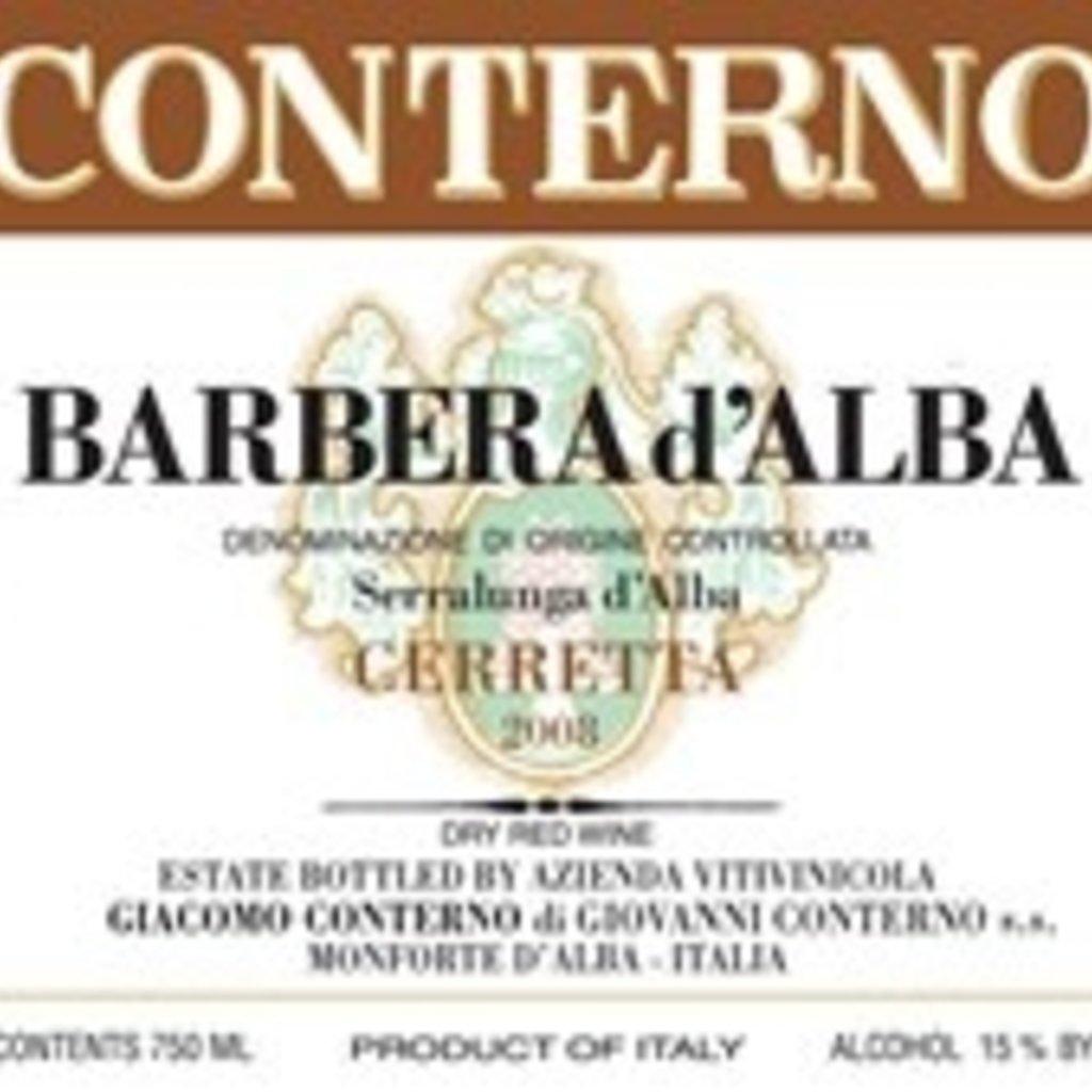 Giacomo Conterno Cerretta Barbera d'Alba 2018