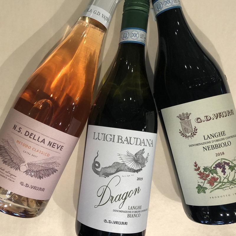 Bin 604 Wine + Spirits Italy 3-pack