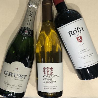 Bin 604 Wine + Spirits USA 3-pack