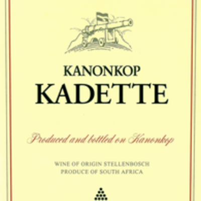 """Kanonkop """"Kadette"""" 2018"""