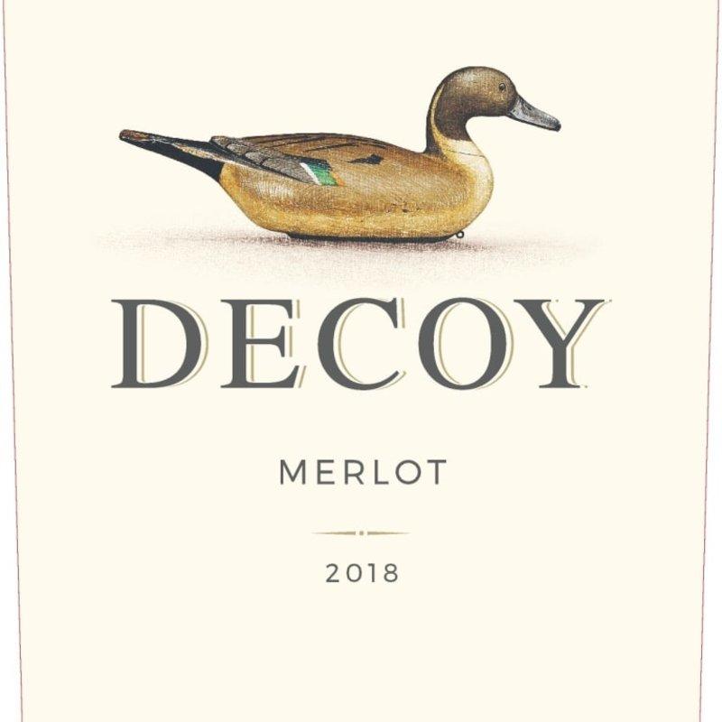 """Duckhorn """"Decoy"""" Merlot 2018"""