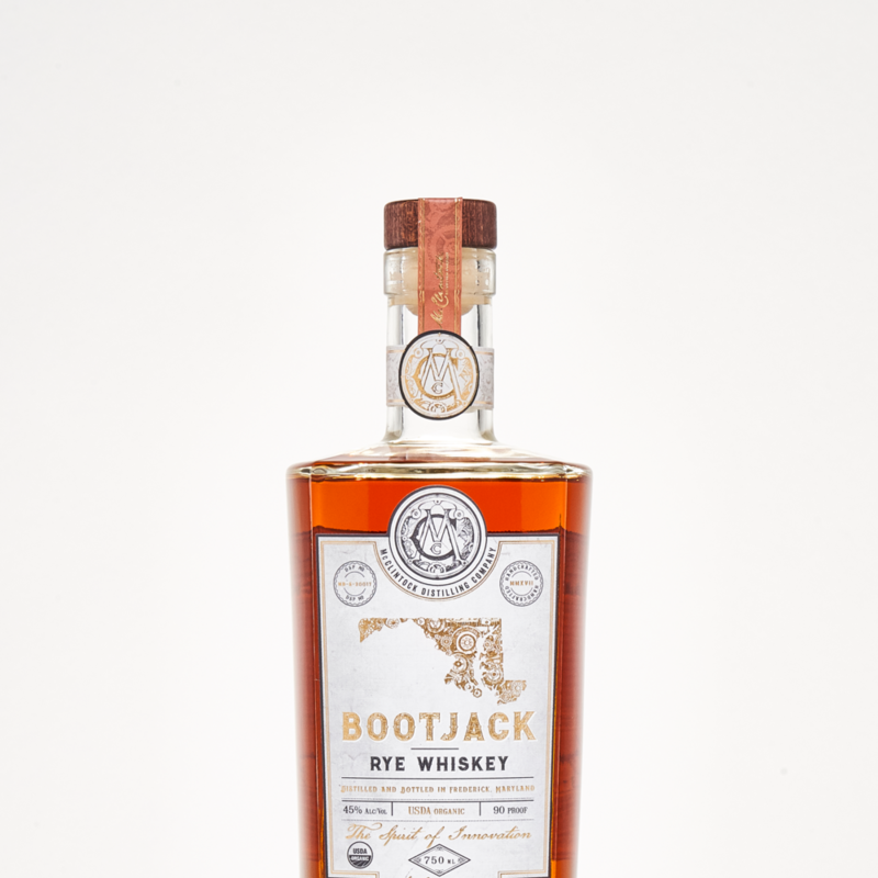 McClintock Distilling Bootjack Rye Whiskey