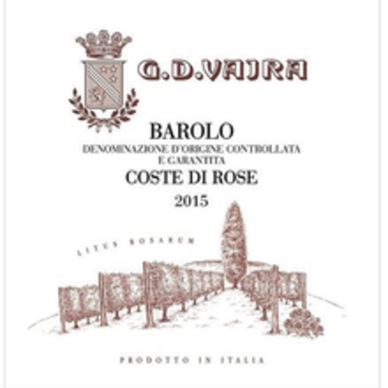 G.D. Vajra Coste di Rose Barolo 2016