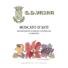 G.D. Vajra Moscato  d'Asti 2019 375mL