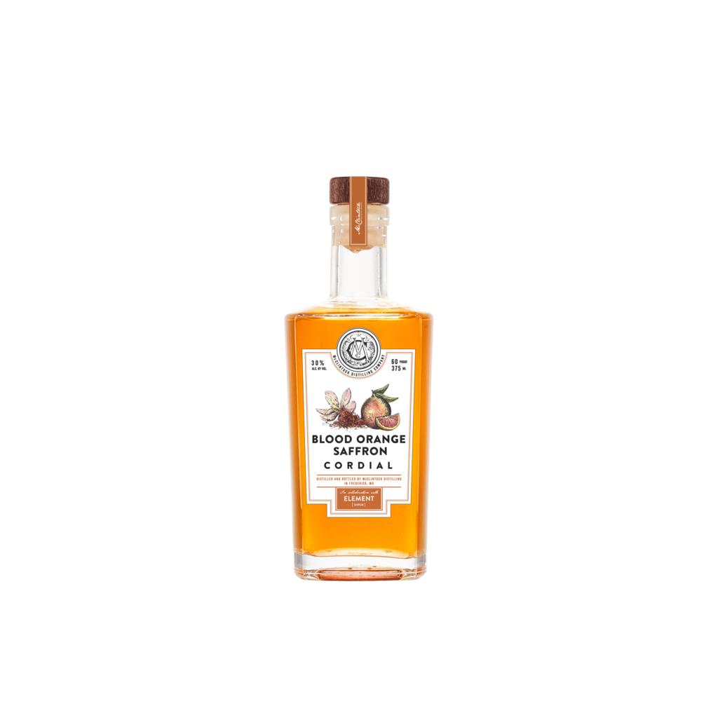 McClintock Distilling Blood Orange Saffron Liqueur 375mL