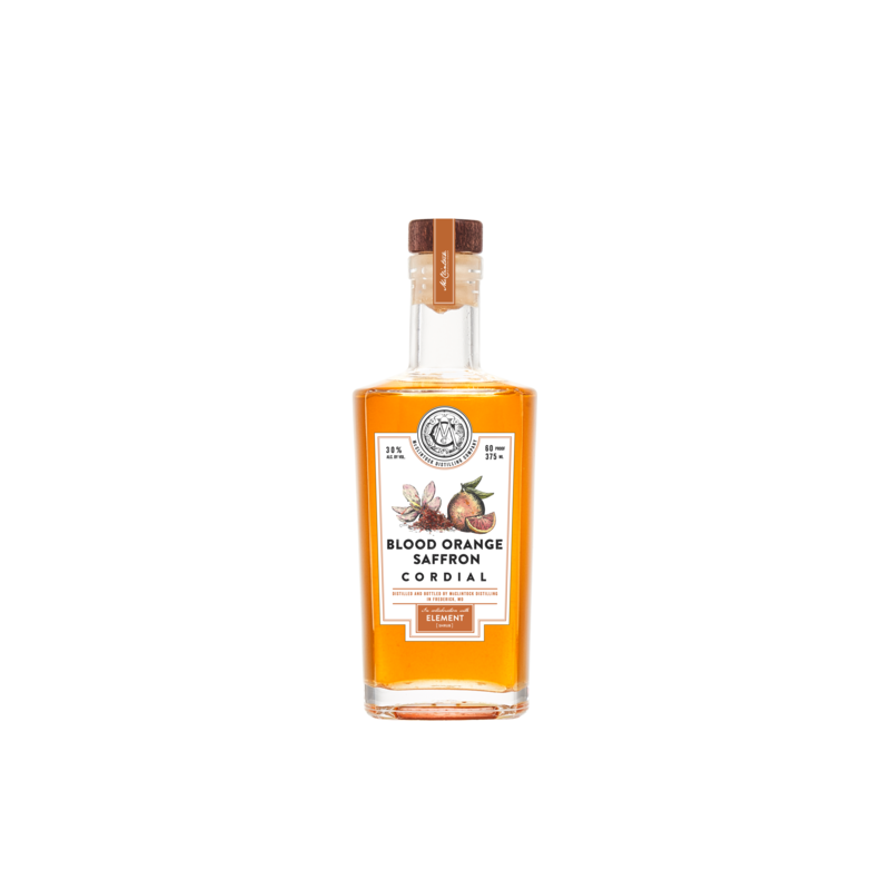 McClintock Distilling Blood Orange Saffron Liqueur 375mL