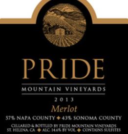 Pride Mountain Vineyards Merlot 2017