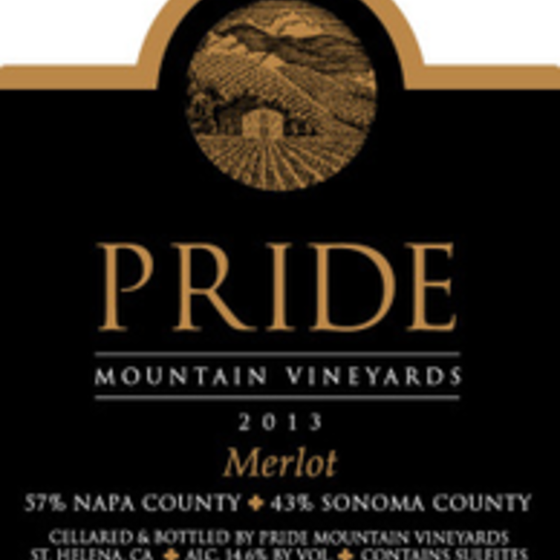 Pride Mountain Vineyards Merlot 2017