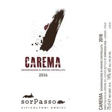 SorPasso Carema 2017