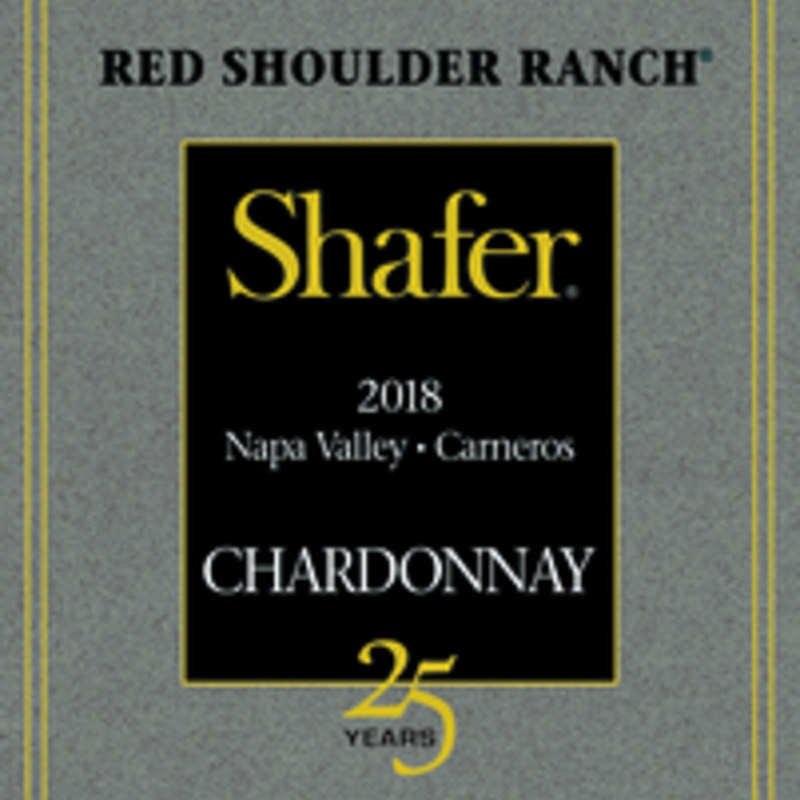Shafer Red Shoulder Ranch Chardonnay 2018