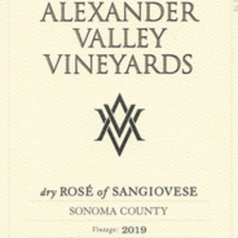 Alexander Valley Rose of Sangiovese 2019