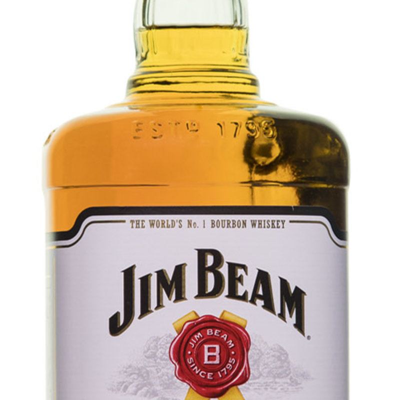 Jim Beam Kentucky Straight Bourbon Whiskey 1.75L