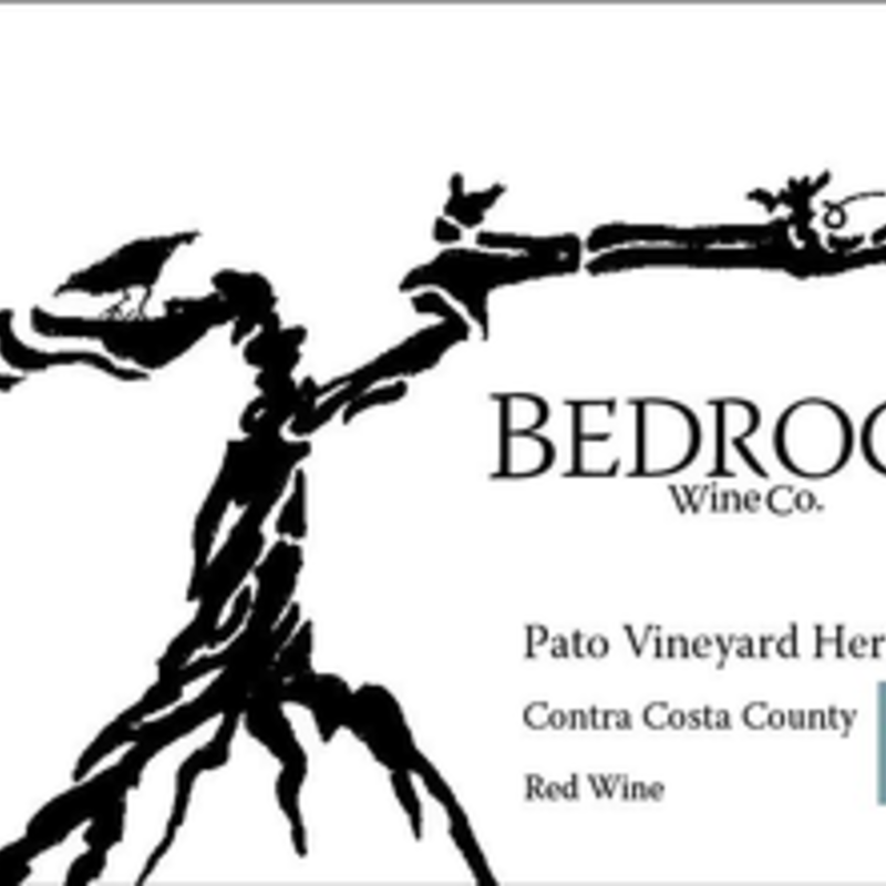 Bedrock Wine Company, Pato Vineyard Heritage Red Wine