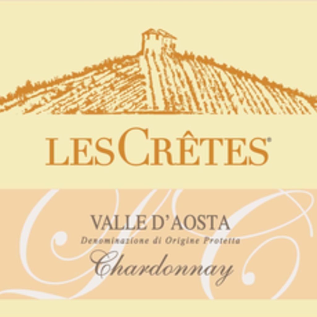Les Cretes Valle D'Aosta Chardonnay 2018