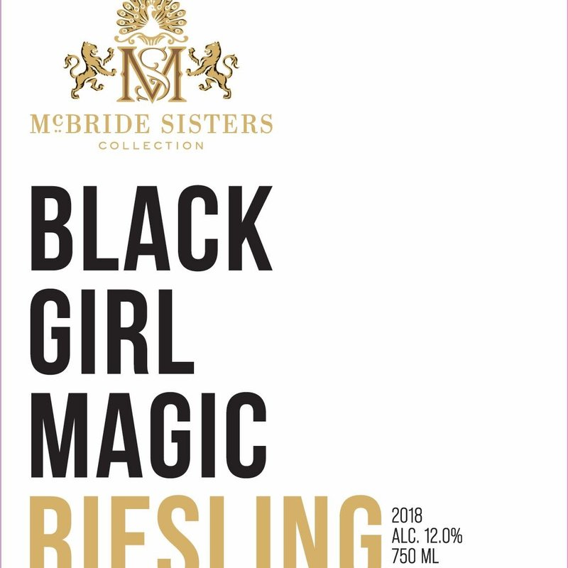 McBride Sisters Black Girl Magic Riesling