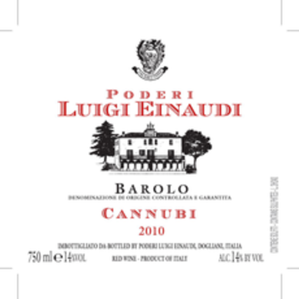 "Luigi Einaudi ""Cannubi"" Barolo 2015"
