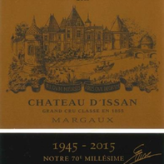 Chateau D'Issan Margaux 2015