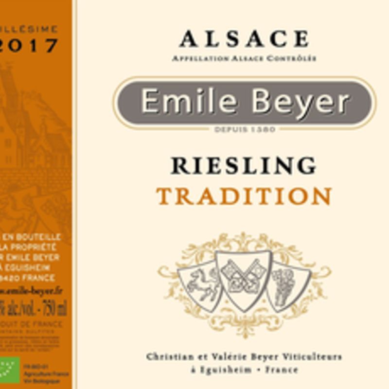 Domaine Emile Beyer Tradition Riesling 2018