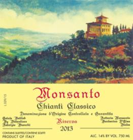 Castello Monsanto Chianti Classico Riserva 2017