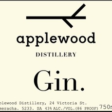 Applewood Distillery Gin 750mL