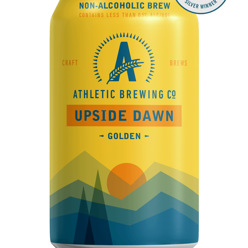 Athletic Brewing Upside Dawn 6-Pack, Non Alcoholic