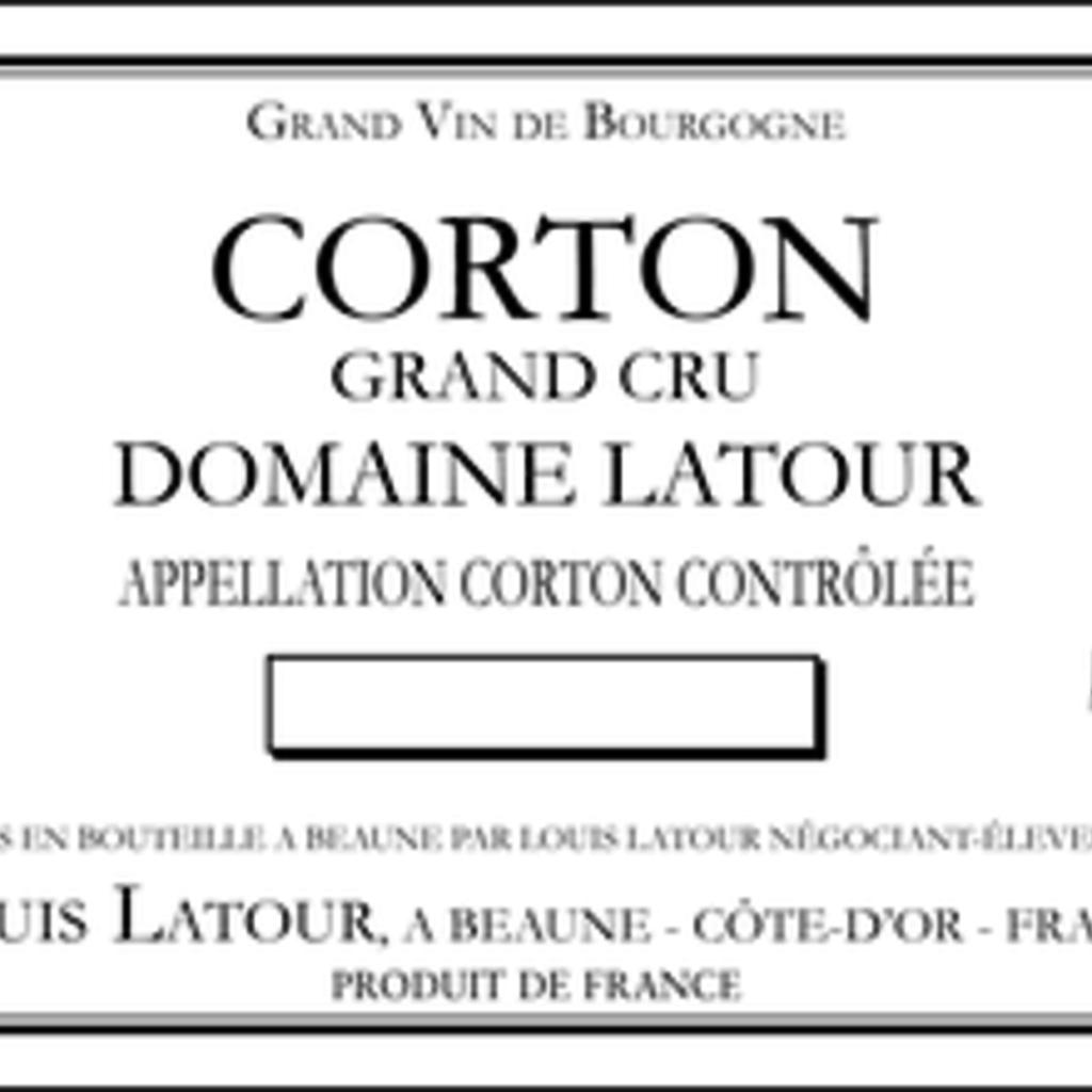 Domaine Louis Latour Corton Grand Cru 2018