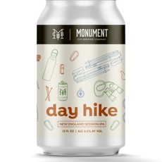 Monument City Brewing Day Hike 6-pack