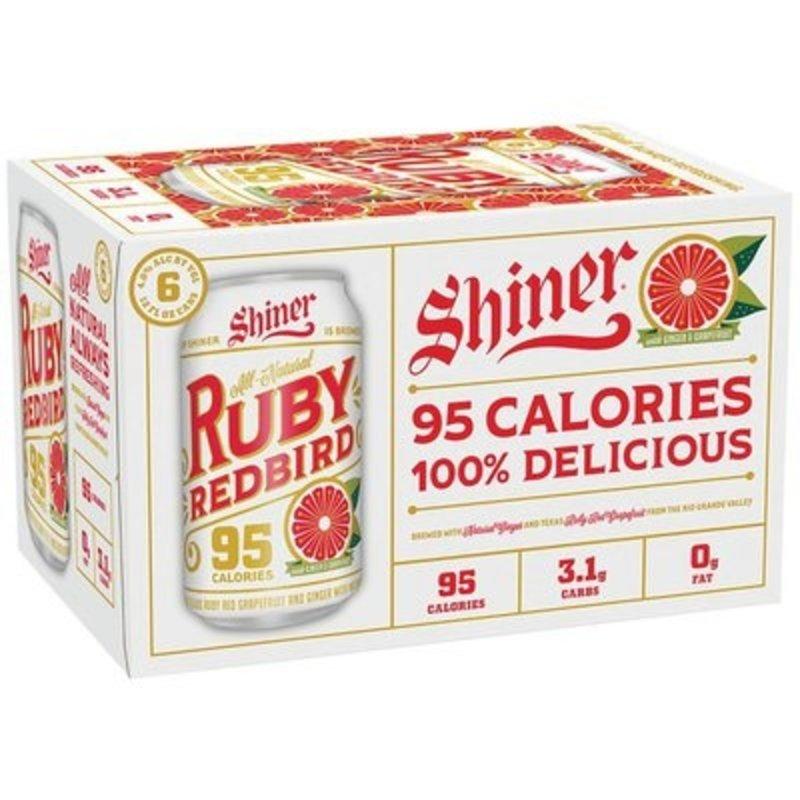 Shiner Ruby Redbird 12-pack