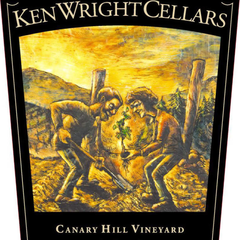 Ken Wright Cellars Canary Hill Vineyard Pinot Noir 2017