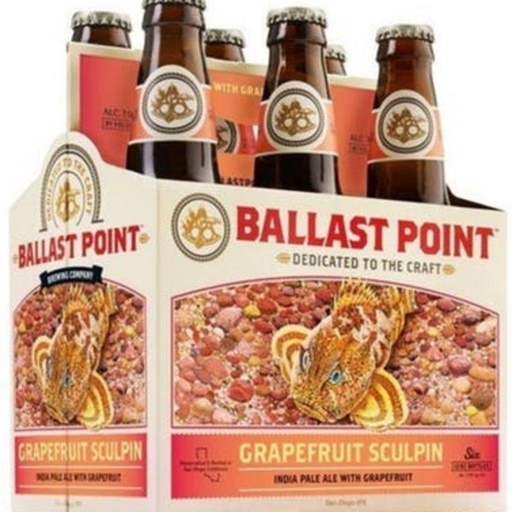 Ballast Point Grapefruit Sculpin 6-Pack
