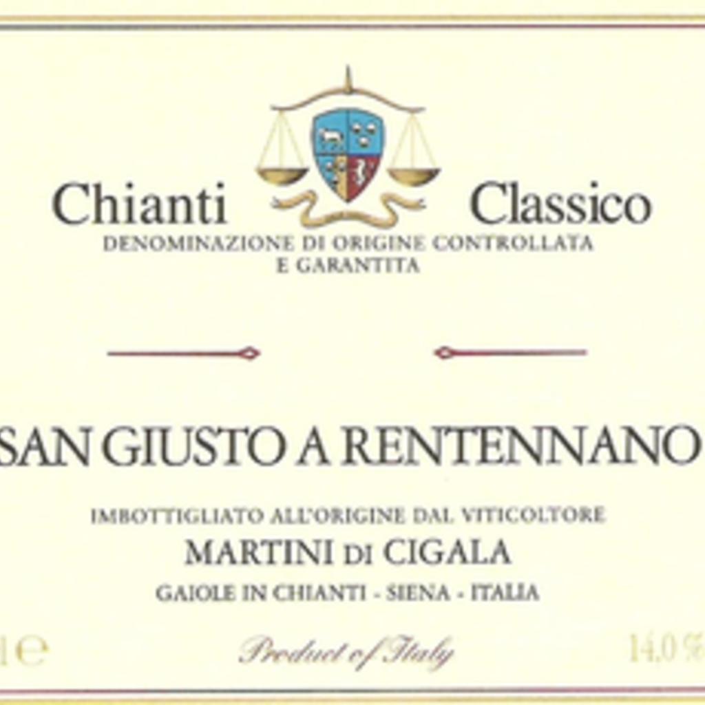 San Giusto a Rentennano  Chianti Classico 2015