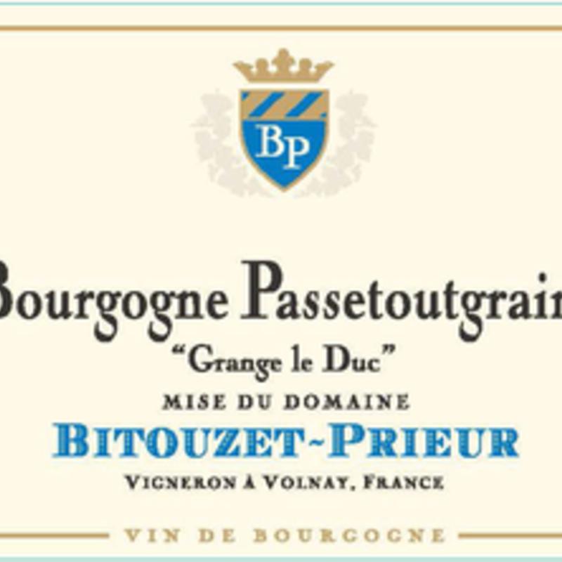 Bitouzet-Prieur Bourgogne Passetoutgrain 2018