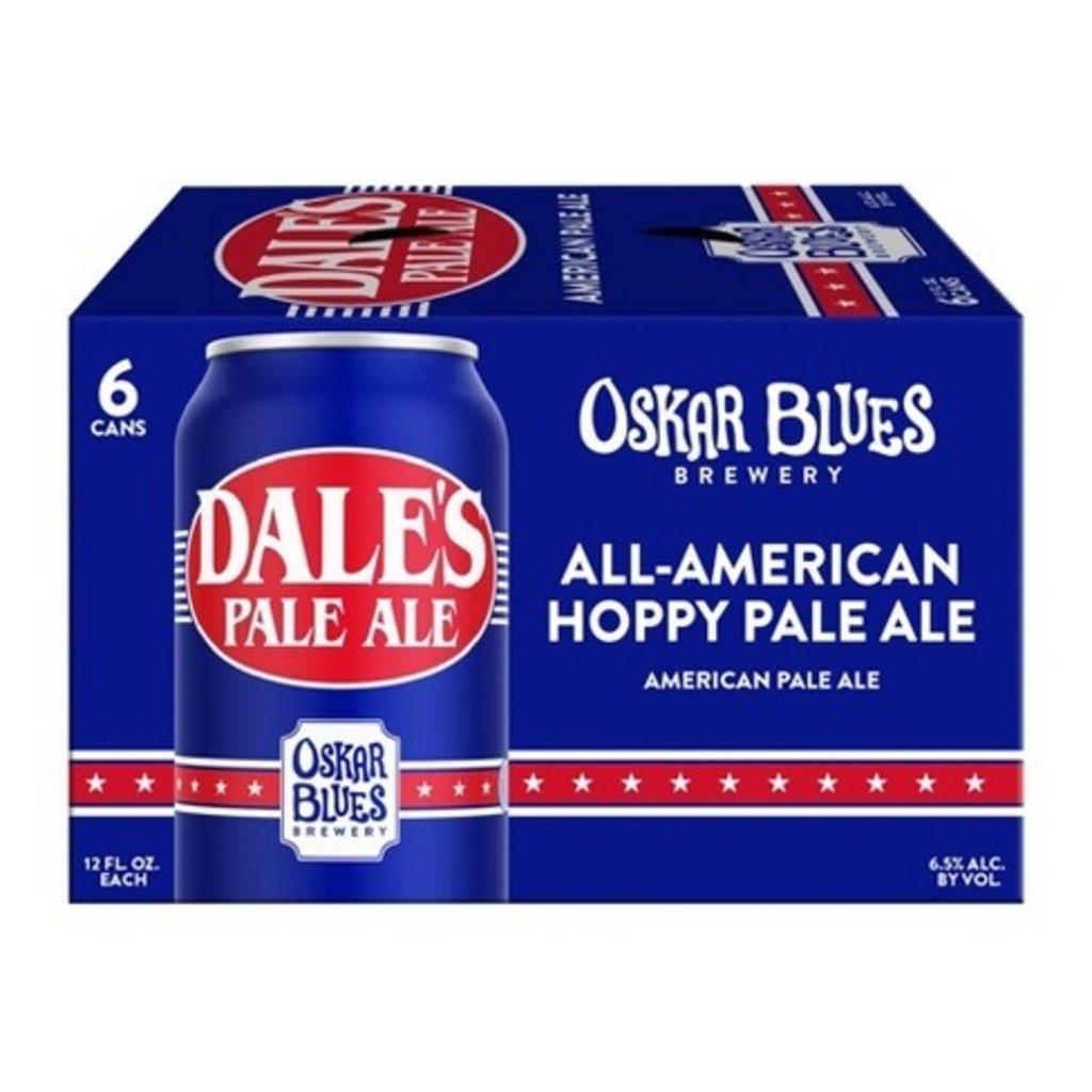 Oskar Blues Dale's Pale Ale 6-Pack Cans