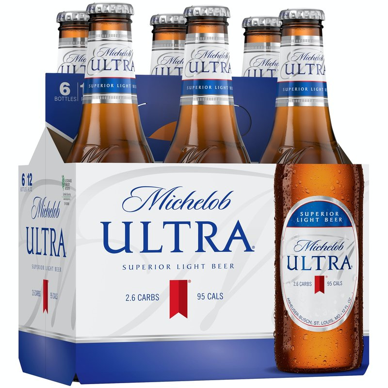 Michelob Ultra 6-Pack Bottles