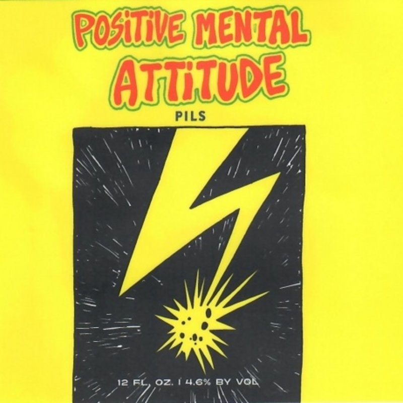 Key Brewing Company Positive Mental Attitude Pilsner 16oz. 6-Pack