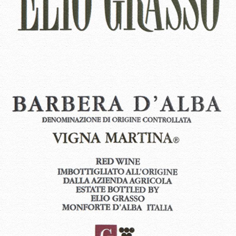 Elio Grasso Vigna Martina Barbera D'Alba 2017