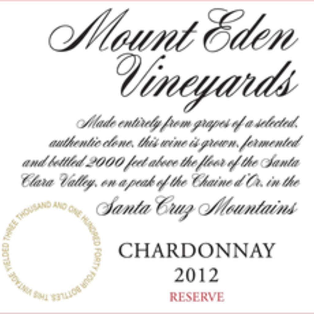 Mount Eden Estate Chardonnay 2014, 1.5L
