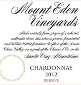 Mount Eden Estate Chardonnay 2014, 1.5L