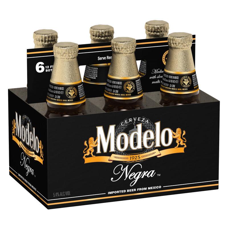 Modelo Negra Cerveza 6-Pack Bottles